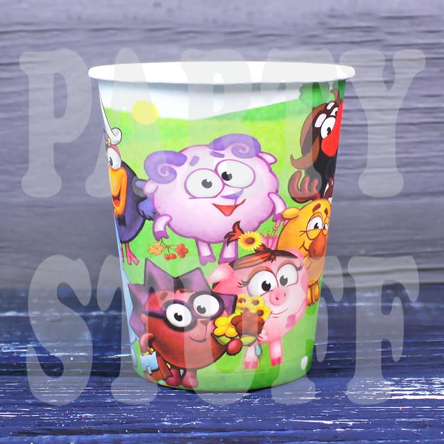 детские одноразовые стаканчики