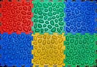 Коврик массажный Пазлы Морская Галька 6 элементов, фото 1