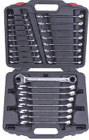 Набор ключей комбинированных текстурных в кейсе 26пр. LICOTA AWT-ESFK05