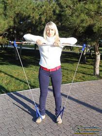 Скандинавский (функциональный) эспандер предназначен для силовых и циклических тренировок