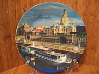 """Тарелка сувенир """" Дрезден """""""