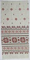 Полотенце льняное в украинском стиле