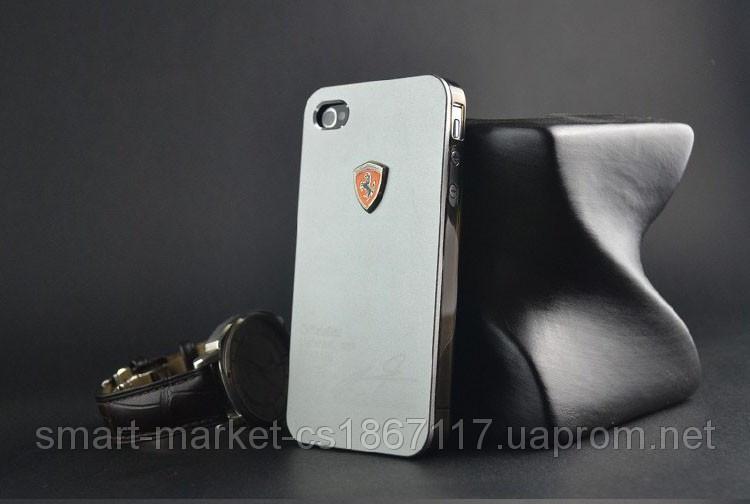 Чехол Ferrari для телефона Apple iPhone 4/4S
