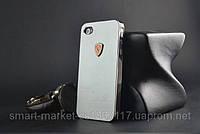 Чехол Ferrari для телефона Apple iPhone 4/4S, фото 1