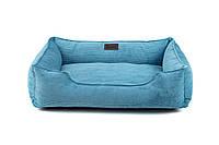 Мягкий лежак с бортами Blue Velvet