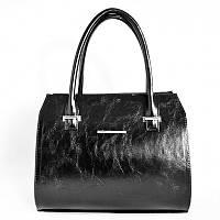 Женская черная каркасная сумка М50-27