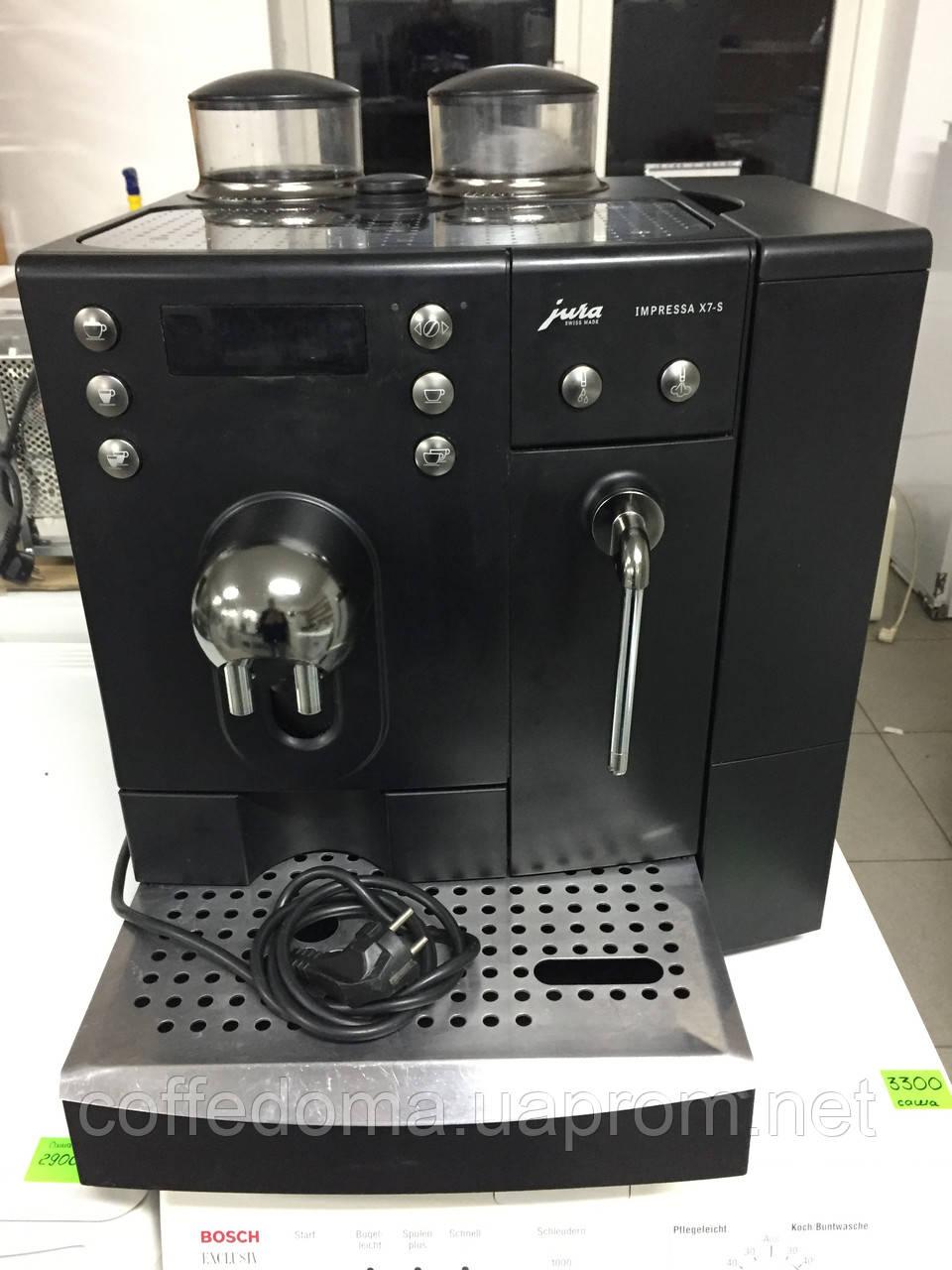 Суперавтомат Jura Impressa X7-S профессиональная автоматическая кофемашина