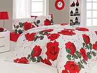 Комплект постельного белья бязь семейный размер first choice roses