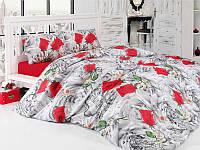 Комплект постельного белья бязь семейный размер first choice valentina