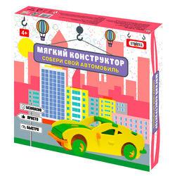 """Конструктор мягкий Strateg """"Собери свой автомобиль"""" (6102)"""