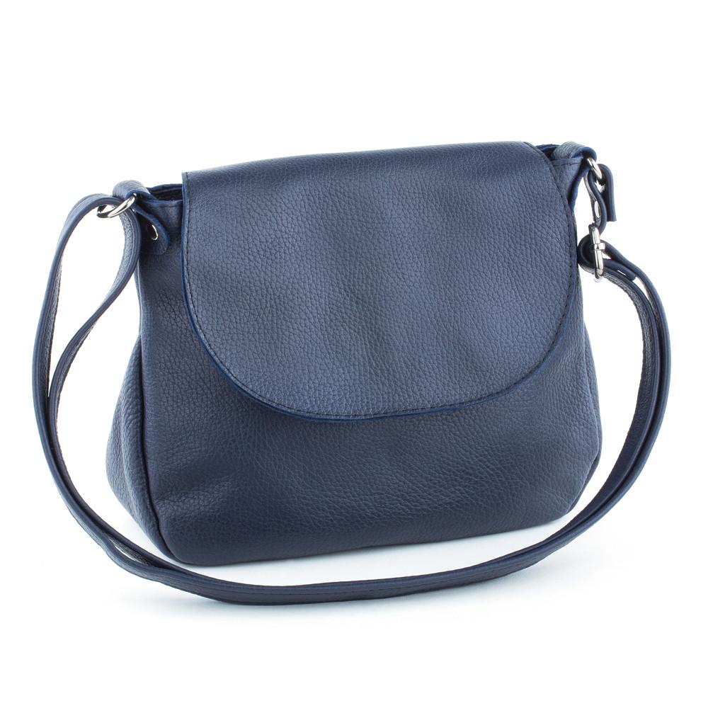 Женская кожаная сумка 05 темно-синий флотар 01050103