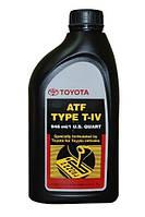 Трансмиссионное масло Toyota ATF T-IV,1л
