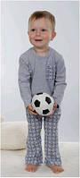 Пижама детская, подростковая для мальчика польская зимняя хлопковая Wiktoria W 175