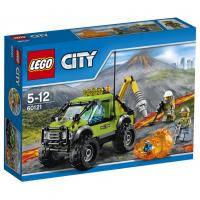 Конструктор LEGO City Underwater Грузовик Исследователей Вулканов (60121)