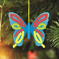 """Заготовка новогодней игрушки """"Бабочка"""""""