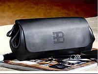 Bugatti сумка клатч кожаная мужская | Черный купить