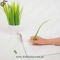 """Ручки в виде травинок - """"Grass Pen"""" - 10 шт. + горшок!, фото 1"""