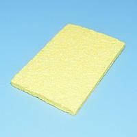 Губка вискозная для очистки жала паяльника прямоугольная 56*36мм  13-0294