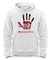 Толстовка Обитель зла Resident Evil zombie-handprint