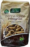 Макарони твердих сортів з висівками пір'я «Penne Rigate Інтеграли», 500 гр., фото 2