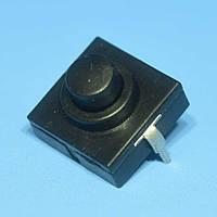 Кнопка с фиксацией положения 12*12*9,4мм  ON-OFF для фонарика