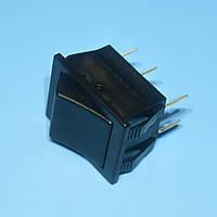 Выключатель без фиксации AE-C1561ALAAA (RS-202) 2-группы ON-(ON) черный  Arcolectric