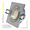 Алюминиевый светильник Hi-Tech Feron DL6120 Aluminium (поворотный встраиваемый) квадрат