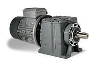 Цилиндрический соосный мотор-редуктор