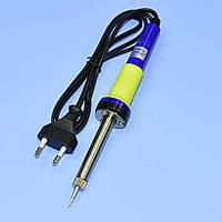 Паяльник 220V ZD-200C 40Вт (нихромовый нагреватель, обычная вилка)  13-0324