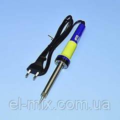 Паяльник 220V ZD-200C 60Вт (ніхромовий нагрівач, звичайна вилка) 13-0325