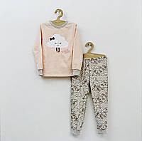 Детская пижама на байке для девочки р. 116