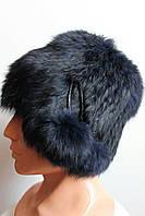 Зимняя женская меховая шапка кубанка