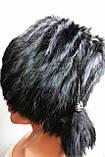 Зимняя женская меховая шапка кубанка, фото 7