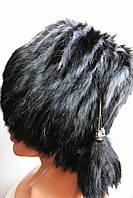 Меховая женская шапка из кролика