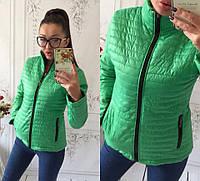 Весна осень 2017 г женская куртка CHANEL ментол