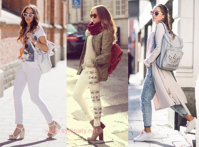 С какой обувью правильно носить рюкзак?