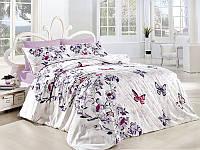 Комплект постельного белья бязь евро размер  first choice kelebek