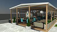 Дизайн-проект кафе. Летнее кафе или ресторан