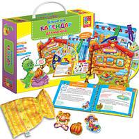 Развивающая игра Бiльше нiж Календар для малюка VT2801-19 (укр)