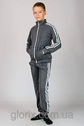 """Подростковый трикотажный спортивный костюм с тройным лампасом """"Спорт №6"""""""