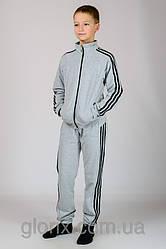 """Трикотажный спортивный костюм для мальчика с классическим тройным лампасом """"Спорт №6"""""""