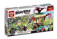 """Конструктор Angry Birds 19003 """"Кража яиц с Птичьего острова"""" 305 деталей"""