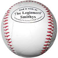 Бейсбольный мяч мягкий белый