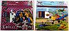 Набор для творчества  (Альбом 60листов +фломастеры 10штук +наклейка) Монстры Самолеты 3608 MS -A