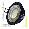 Алюминиевый светильник Hi-Tech Feron DL6110 Black Aluminium (поворотный встраиваемый) круг