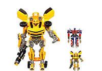 Трансформер Бамблби, Оптимус Прайм Transformers Боевые роботы: 2 вида