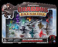 Игровой набор Spin Master Dragons Набор из 15 боевых драконов (SM66605)