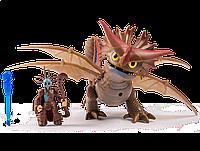 Набор Deluxe Dragons Грозокрыл и Валка в боевой маске (SM66601-2)