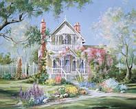 Картины по номерам 40 х 50 см. Волшебный сад.