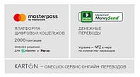 Mastercard запустила в Україні новий онлайн-сервіс грошових переказів Karton.ua